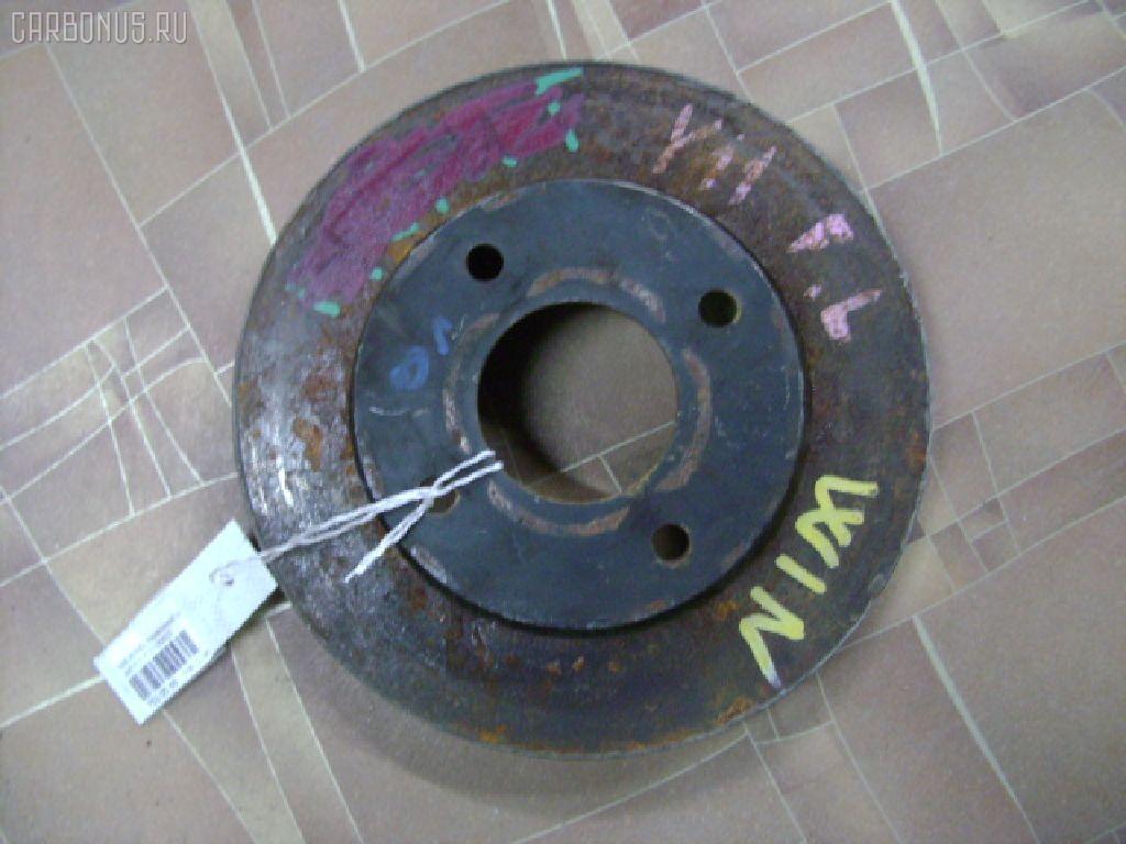 Тормозной диск NISSAN WINGROAD WFY11. Фото 1