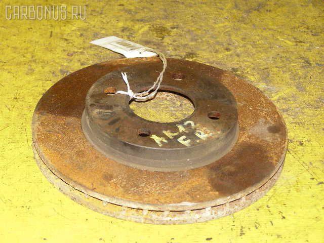 Тормозной диск NISSAN MARCH AK12. Фото 4