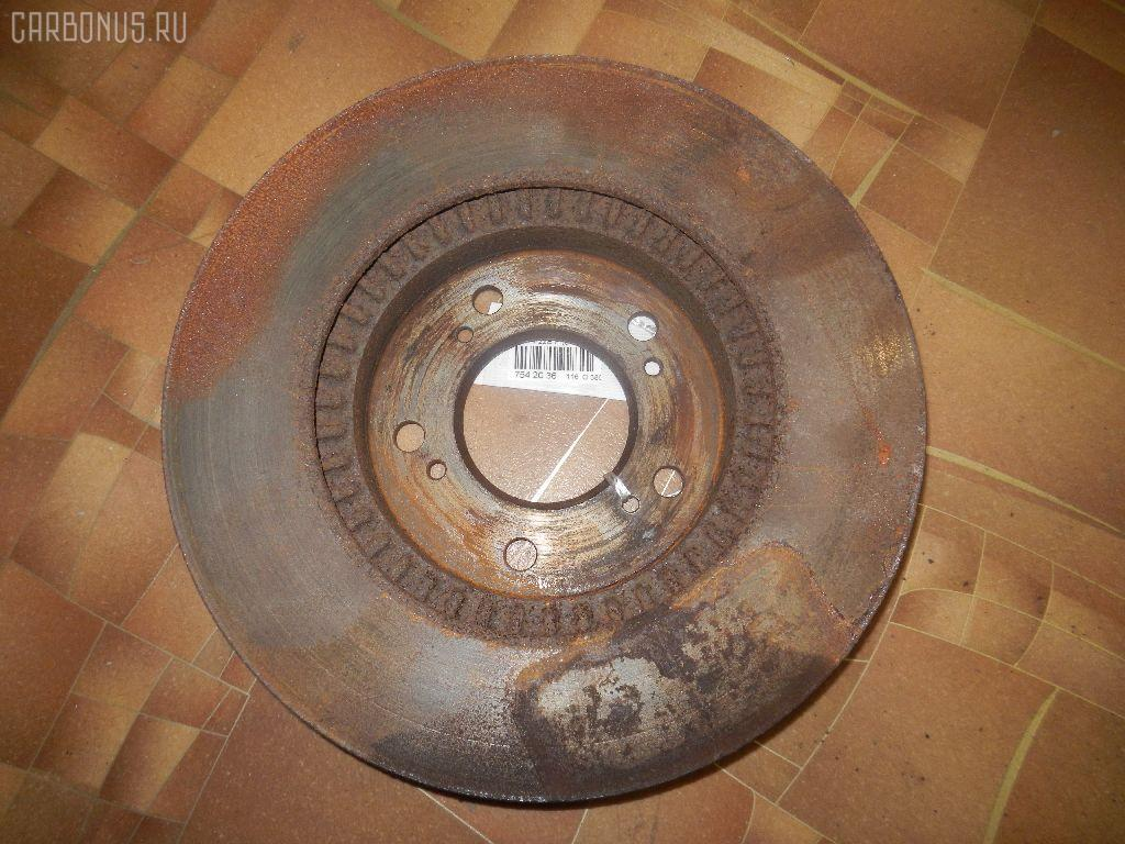 Тормозной диск HONDA ODYSSEY RA1 F22B Фото 2