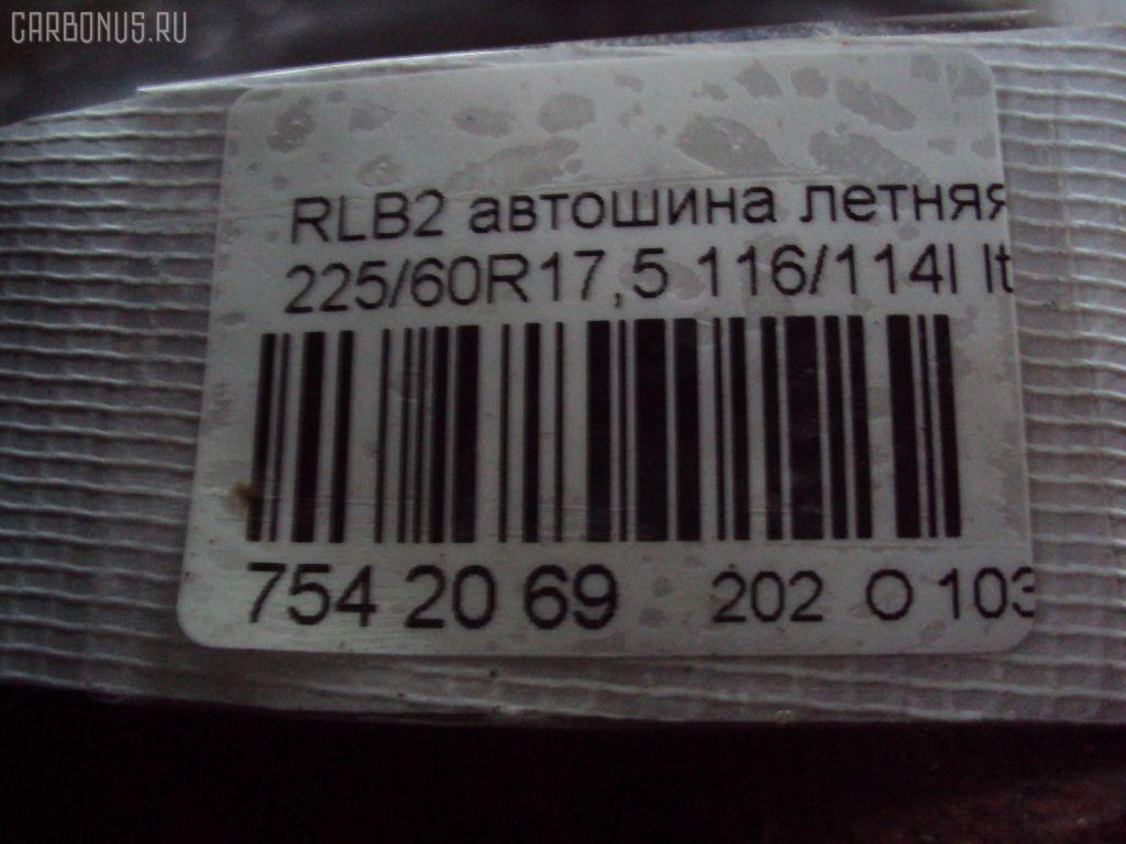 Автошина грузовая летняя RLB265 225/60R17.5LT BRIDGESTONE Фото 2
