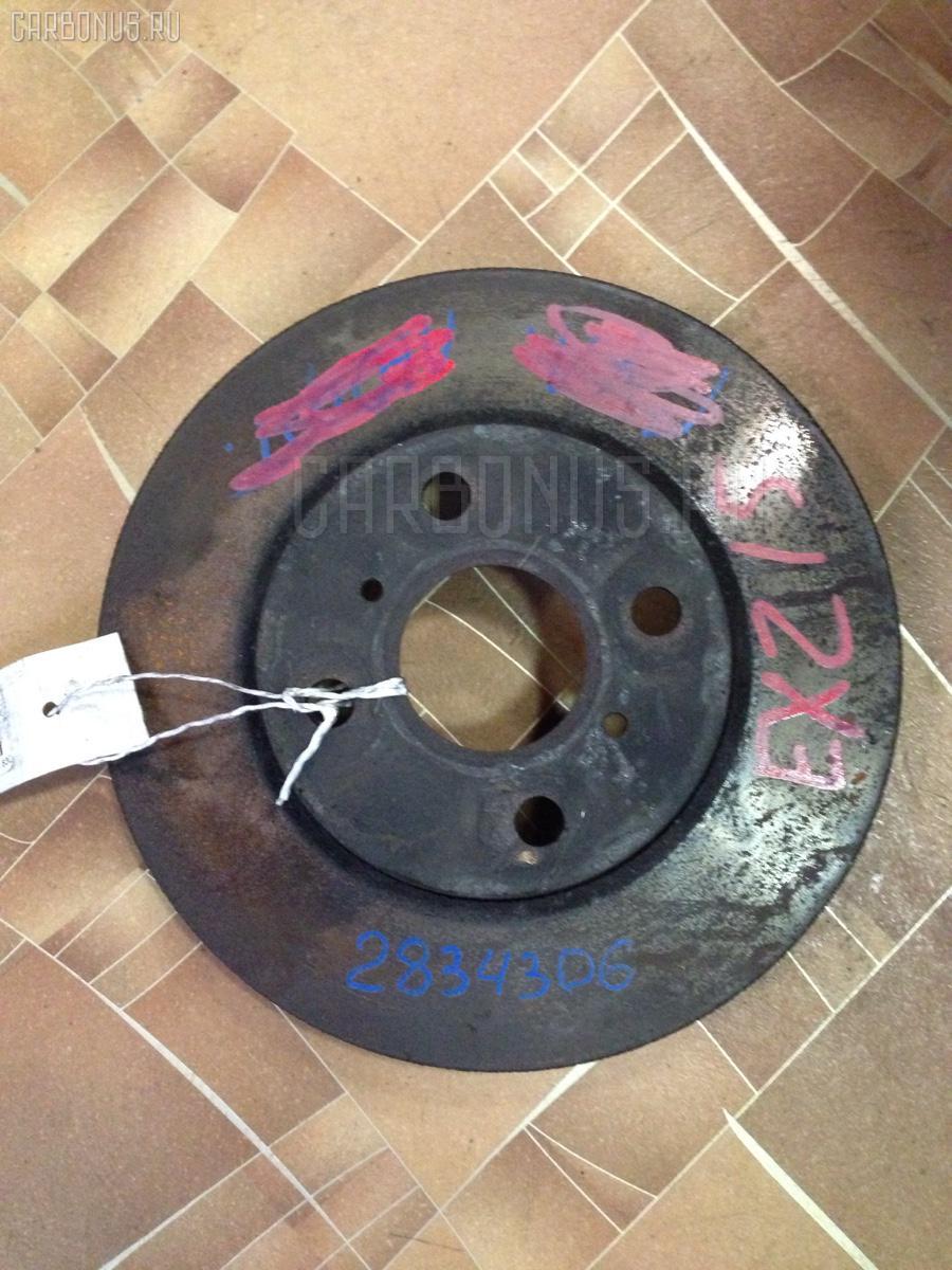Тормозной диск TOYOTA RAUM EXZ15 5E-FE Фото 2