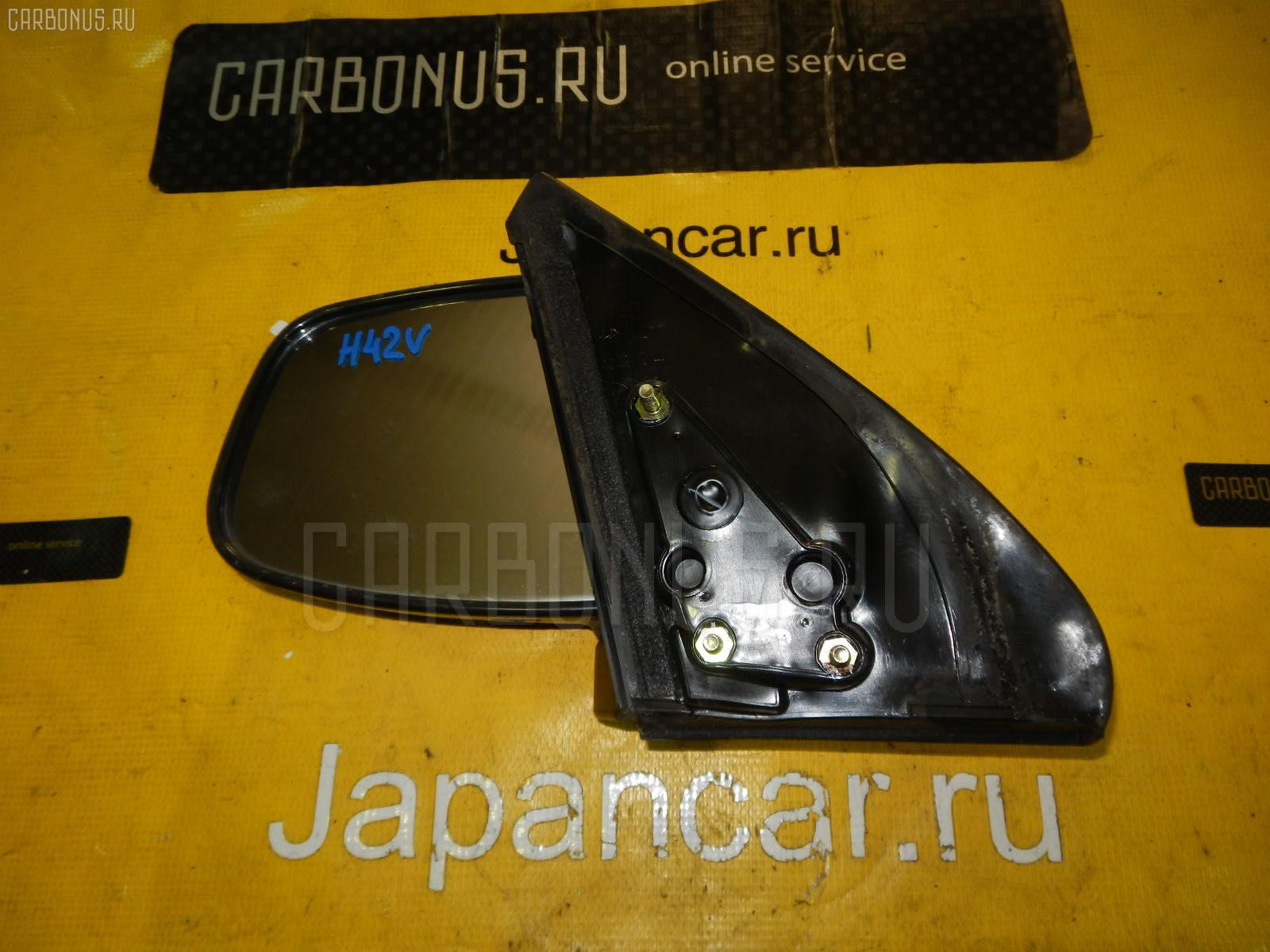 Зеркало двери боковой MITSUBISHI MINICA H42V Фото 1