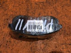 Тормозные колодки на Nissan Avenir PW11 SR20DE, Переднее расположение