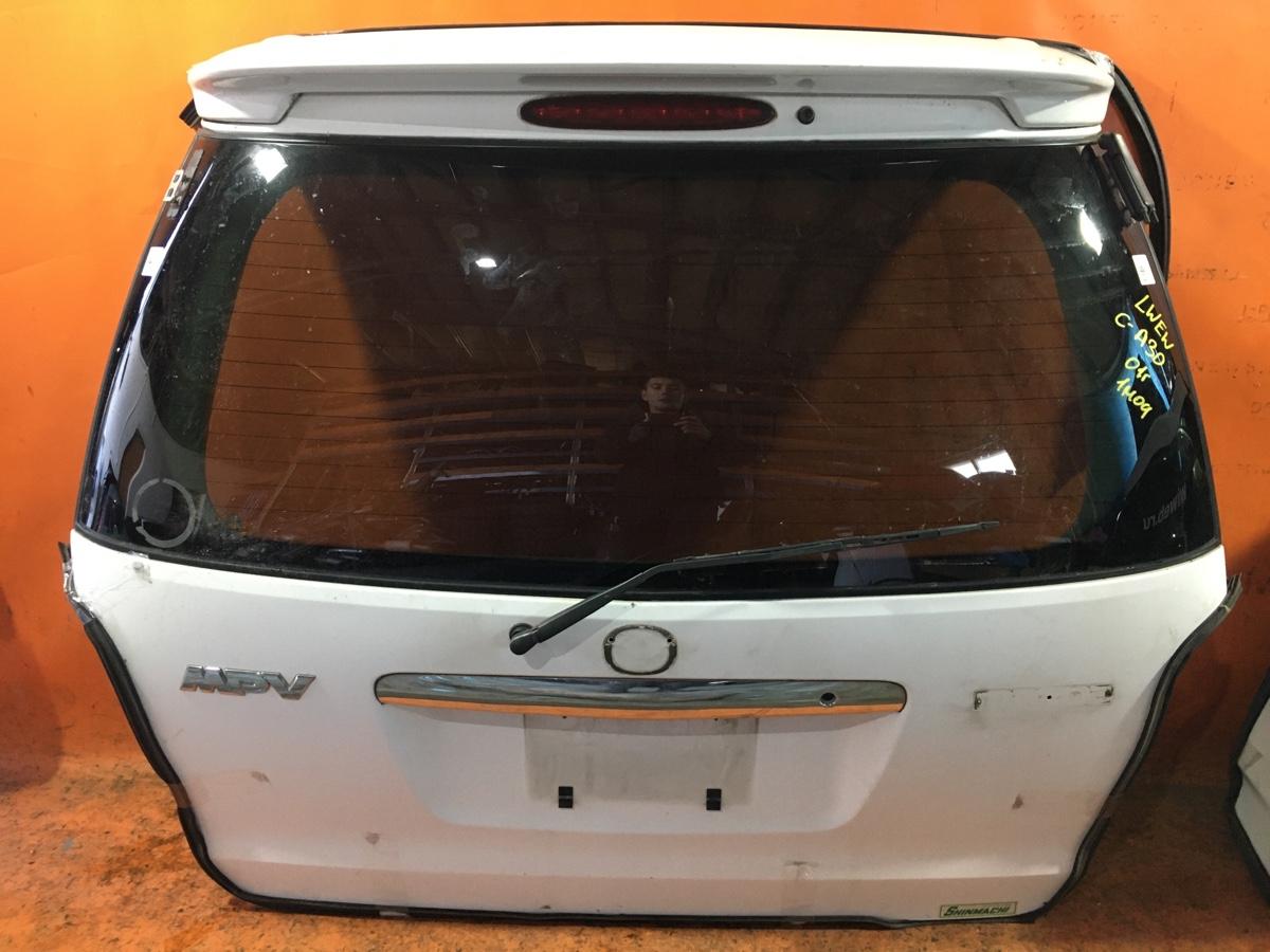 Дверь задняя на Mazda Mpv LWEW Фото 1