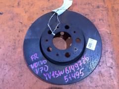 Тормозной диск на Volvo V70 SW B5244S, Переднее расположение