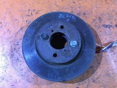 Тормозной диск на Suzuki Swift ZC71S K12B, Переднее расположение