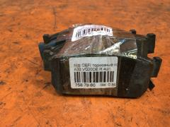 Тормозные колодки на Nissan Cefiro A32 VQ20DE, Заднее расположение