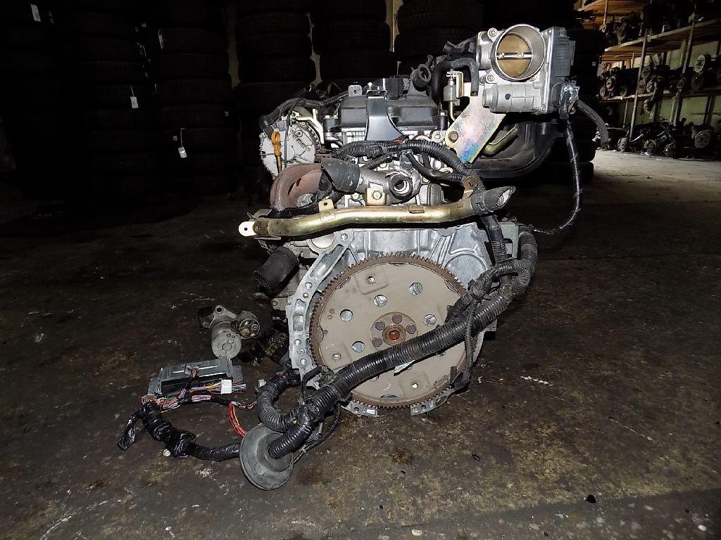 Двигатель на Nissan Presage TU31 QR25DE Фото 1