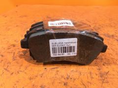 Тормозные колодки на Subaru Legacy B4 BE5 EJ206, Переднее расположение