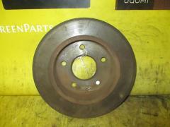 Тормозной диск на Nissan Primera TP12 QR20DE, Заднее расположение
