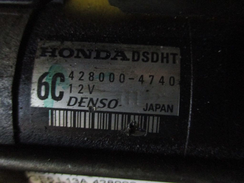 Стартер на Honda Fit GE6 L13A Фото 1