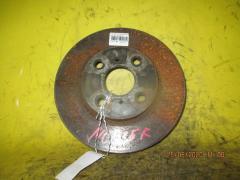 Тормозной диск на Toyota Bb NCP35 1NZ-FE, Переднее расположение