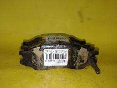 Тормозные колодки на Nissan Ad Van VY11 QG13DE, Переднее расположение