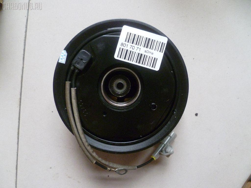 Муфта компрессора кондиционера TOYOTA LAND CRUISER UZJ100W 2UZ-FE. Фото 1
