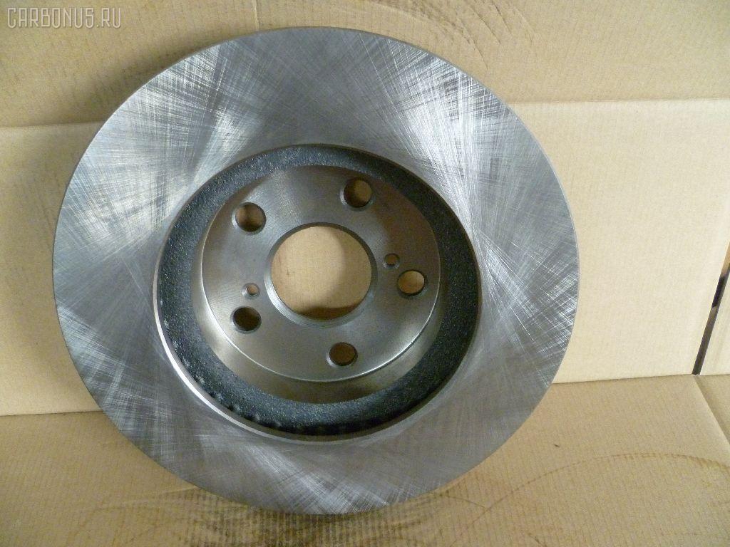 Тормозной диск TOYOTA CALDINA AT211G. Фото 9