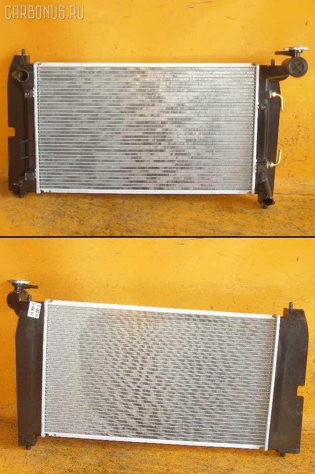 Радиатор ДВС TOYOTA COROLLA NZE124 1NZ-FE. Фото 7