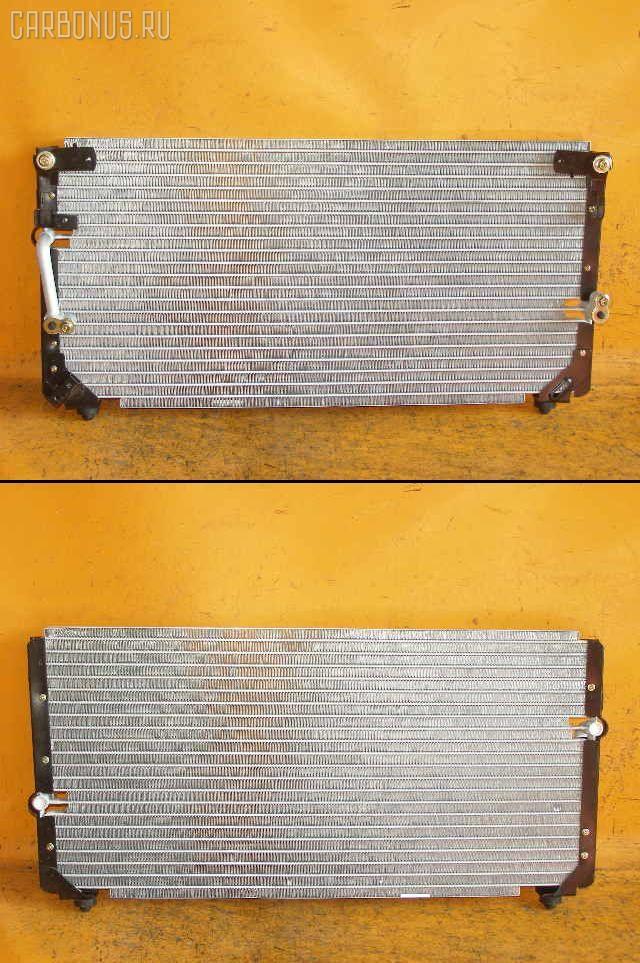 Радиатор кондиционера TOYOTA LAND CRUISER HDJ81V 1HD-T. Фото 1