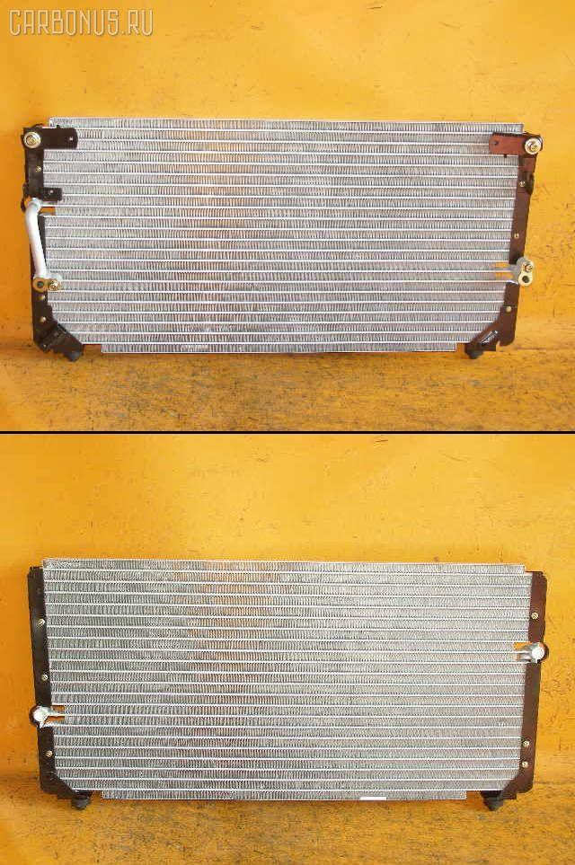 Радиатор кондиционера TOYOTA LAND CRUISER HDJ81V 1HD-T. Фото 3