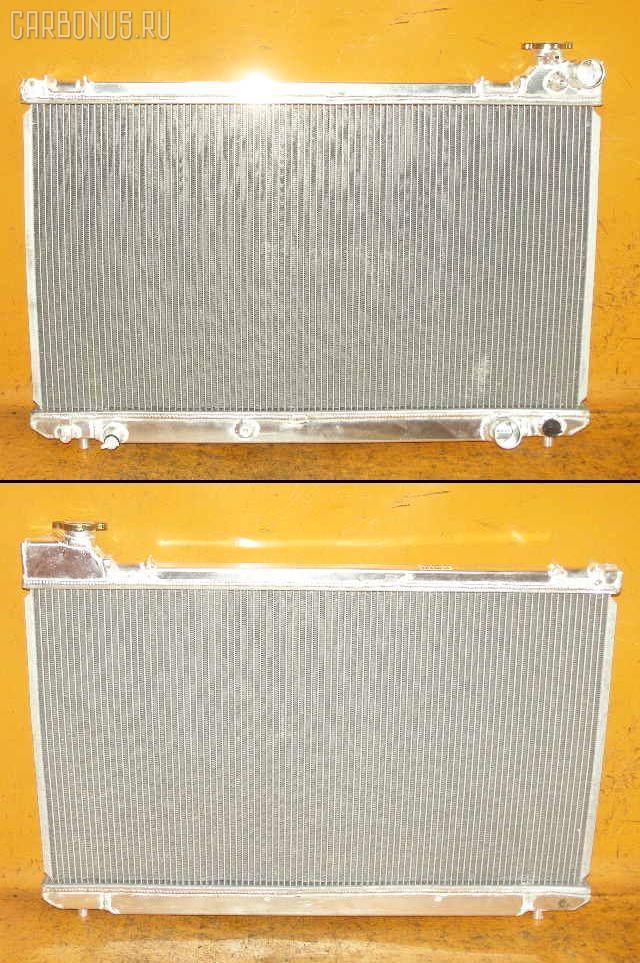 Радиатор ДВС TOYOTA MARK II JZX110 1JZ-FSE. Фото 5