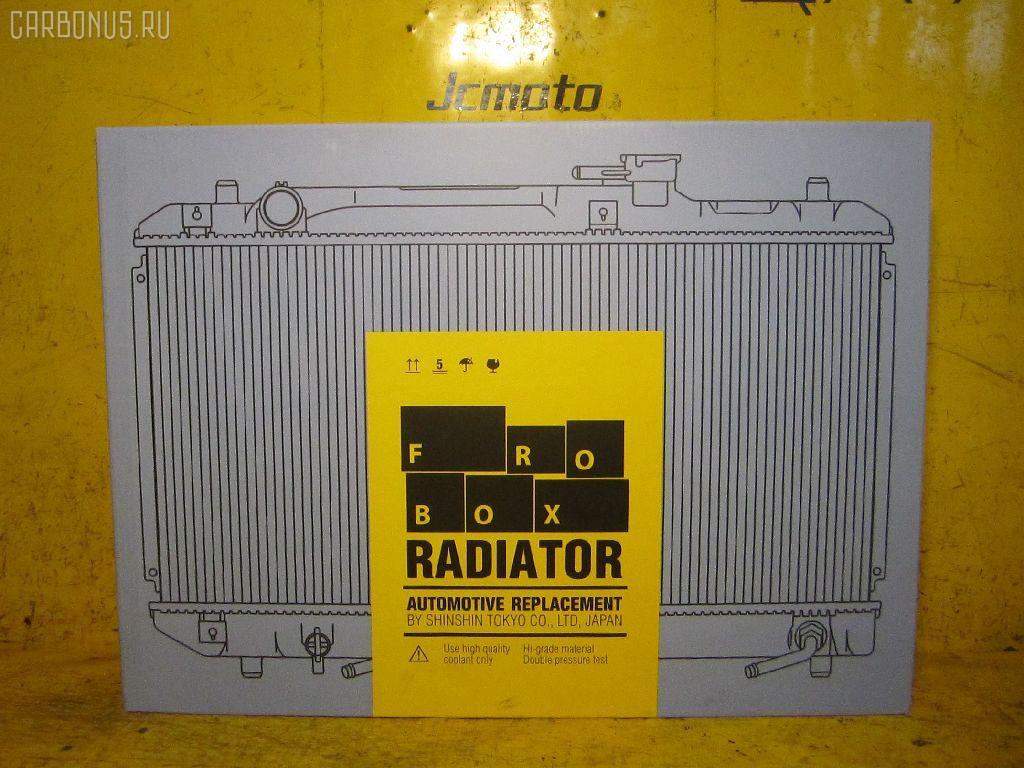 Радиатор ДВС TOYOTA COROLLA NZE121 1NZ-FE Фото 3