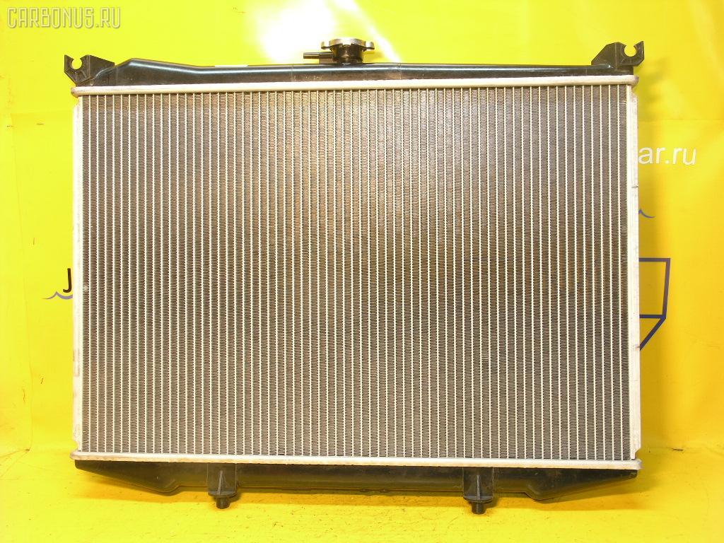 Радиатор ДВС NISSAN TERRANO LBYD21 TD27T Фото 2