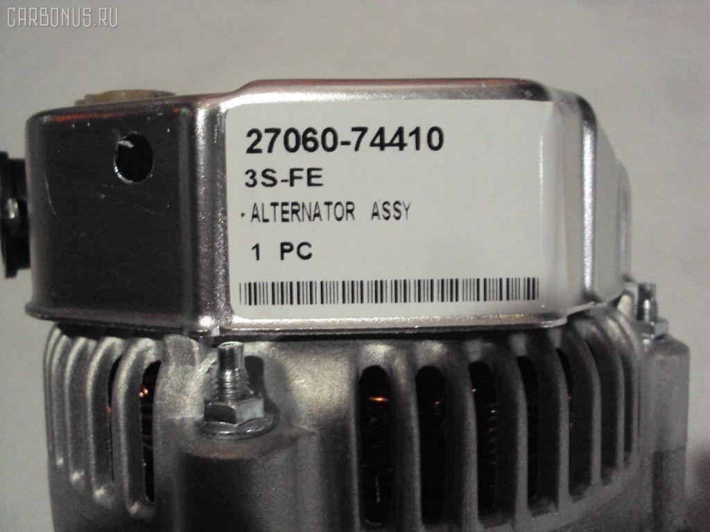 Генератор TOYOTA CALDINA ST195G 3S-FE. Фото 9