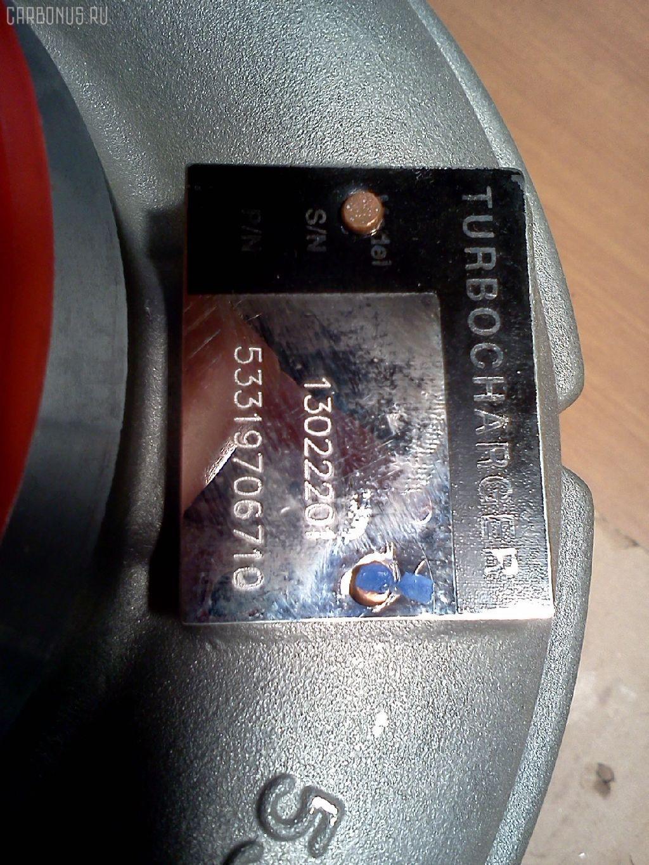 Турбина MAN TAG TRUCK D2866LF31(4V) Фото 1