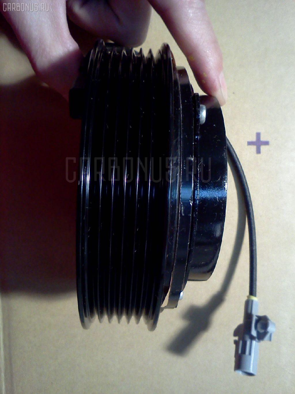 Муфта компрессора кондиционера TOYOTA LAND CRUISER UZJ100W 2UZ-FE. Фото 5