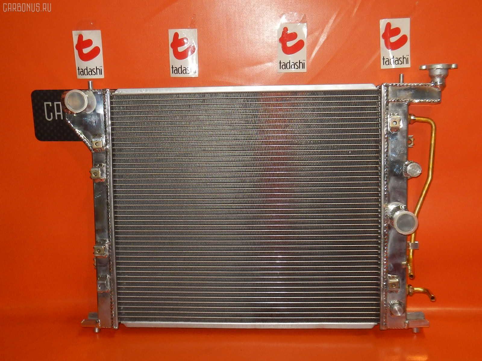 Радиатор ДВС TOYOTA MARK II JZX90 1JZ-GTE. Фото 6