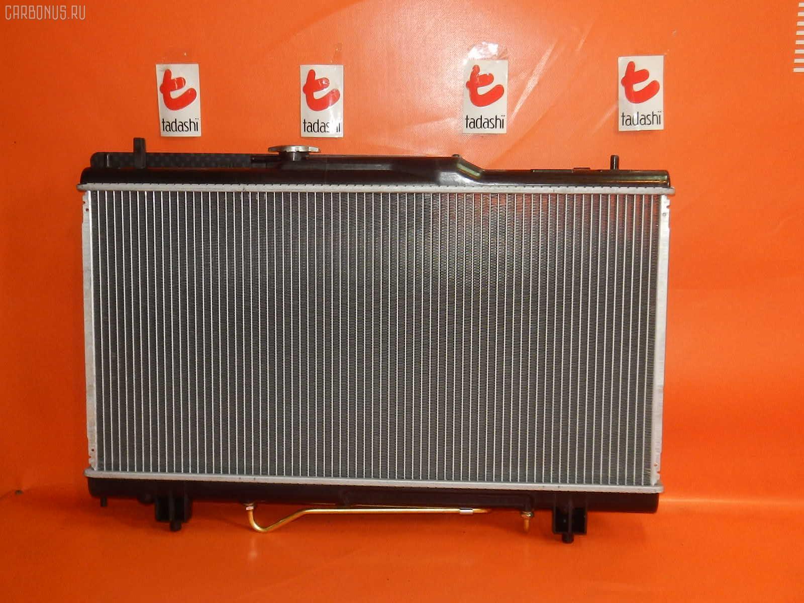 Радиатор ДВС TOYOTA CALDINA ST215G 3S-GE. Фото 3