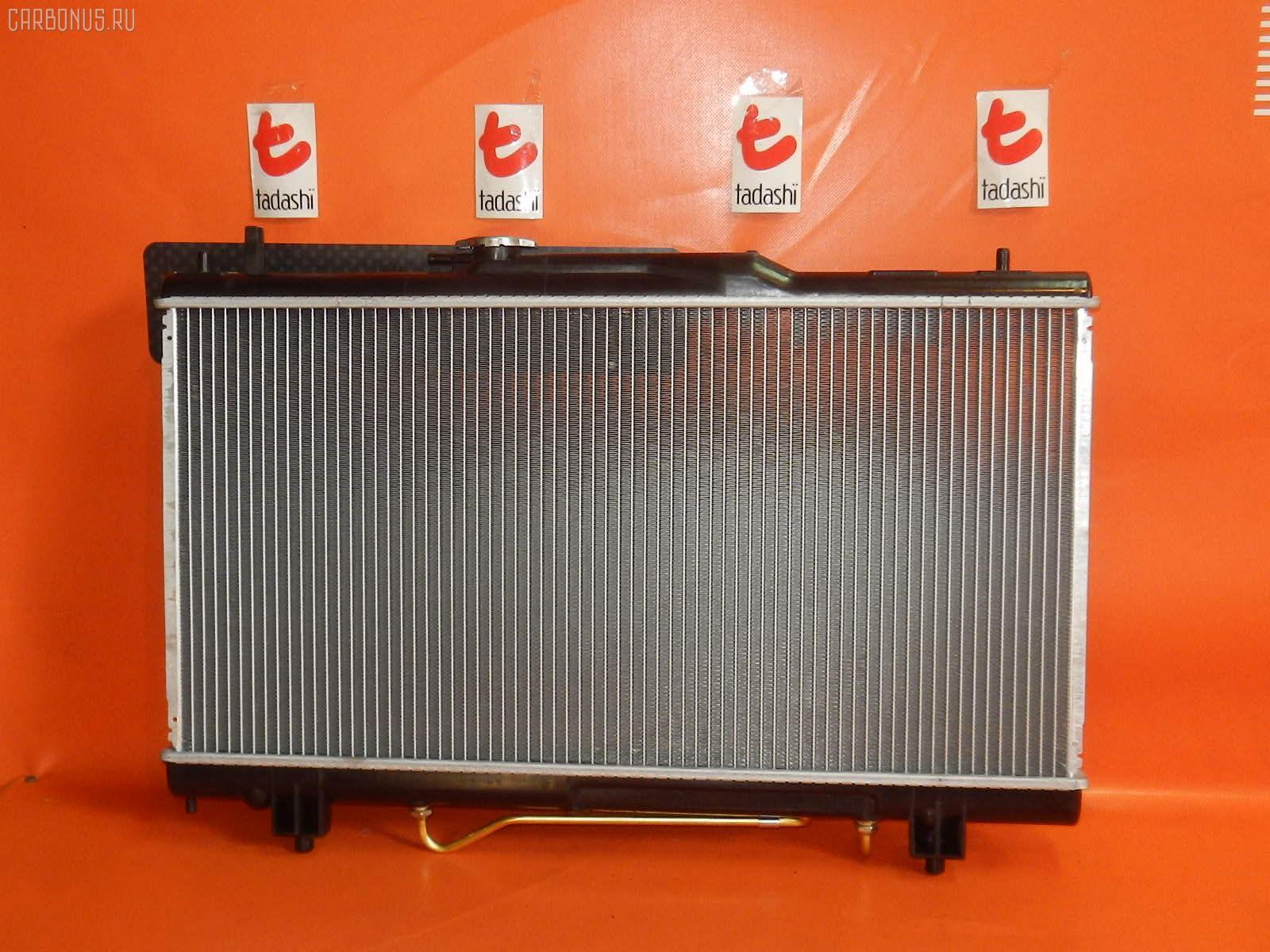 Радиатор ДВС TOYOTA CALDINA ST215G 3S-GE. Фото 6