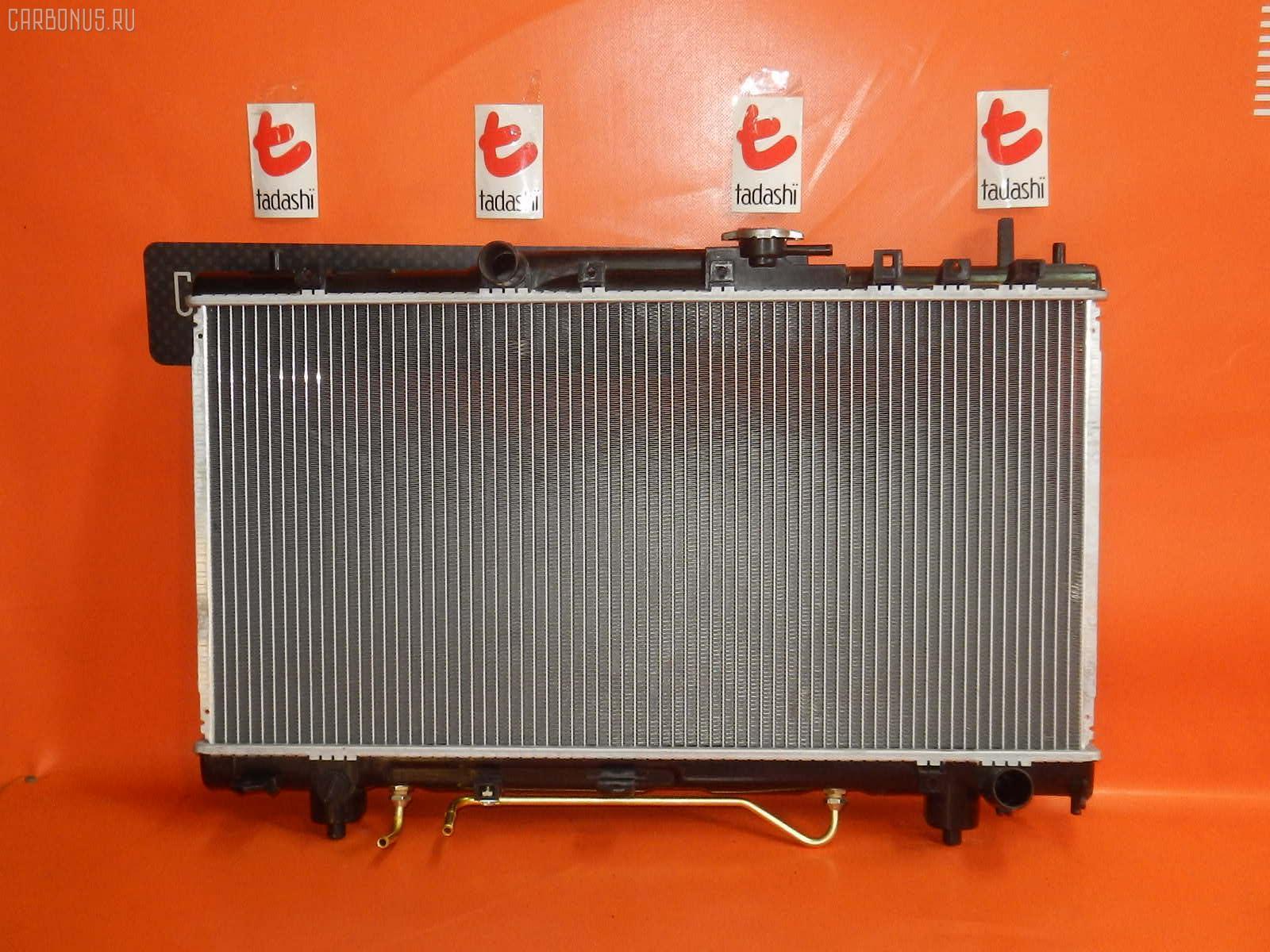 Радиатор ДВС TOYOTA CALDINA ST215G 3S-GE. Фото 7