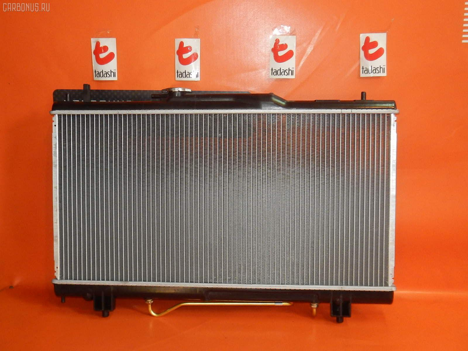 Радиатор ДВС TOYOTA CALDINA ST215G 3S-GE. Фото 8