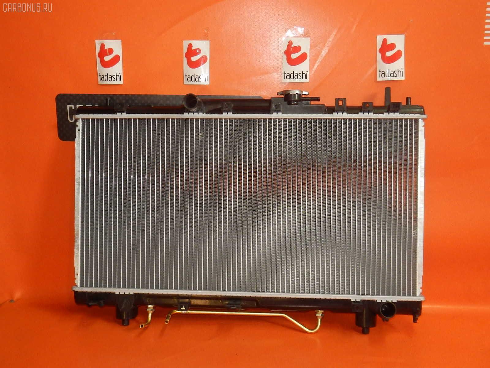 Радиатор ДВС TOYOTA CALDINA ST215G 3S-GE. Фото 9