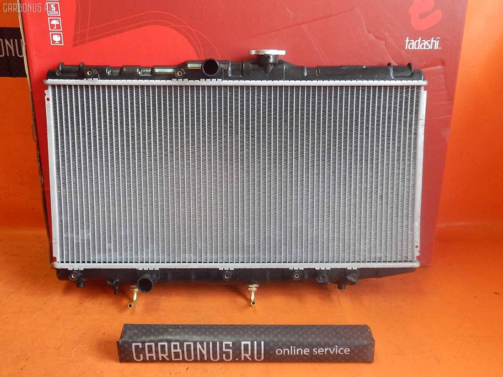 Радиатор ДВС TOYOTA CORONA AT175 4A-FE. Фото 1