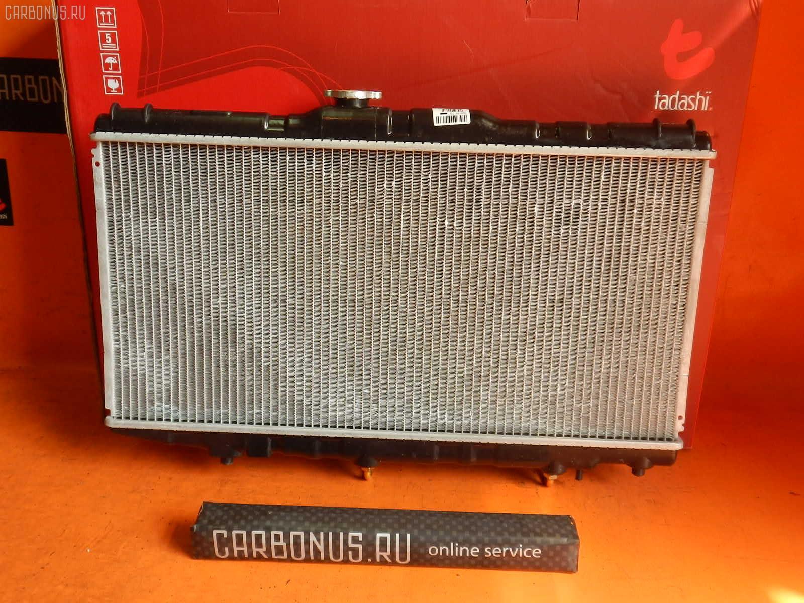 Радиатор ДВС TOYOTA CORONA AT175 4A-FE. Фото 4