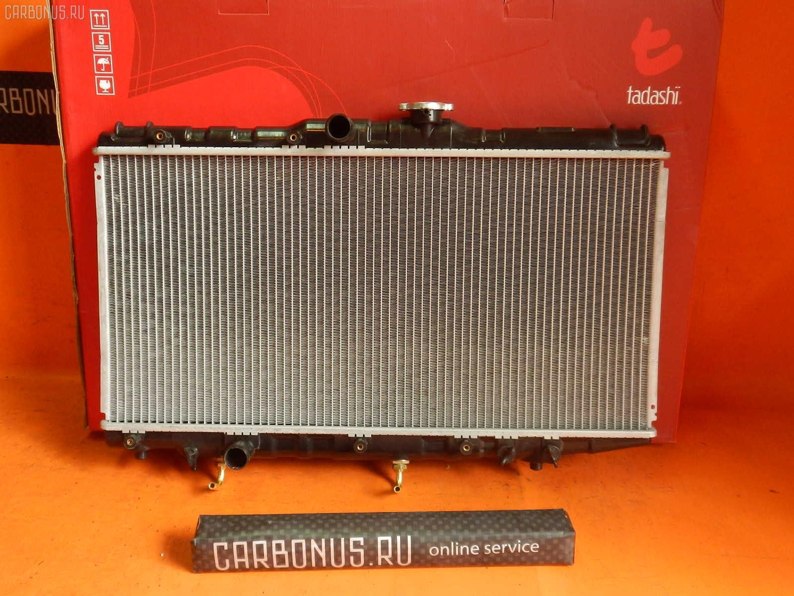 Радиатор ДВС TOYOTA CORONA AT175 4A-FE. Фото 6