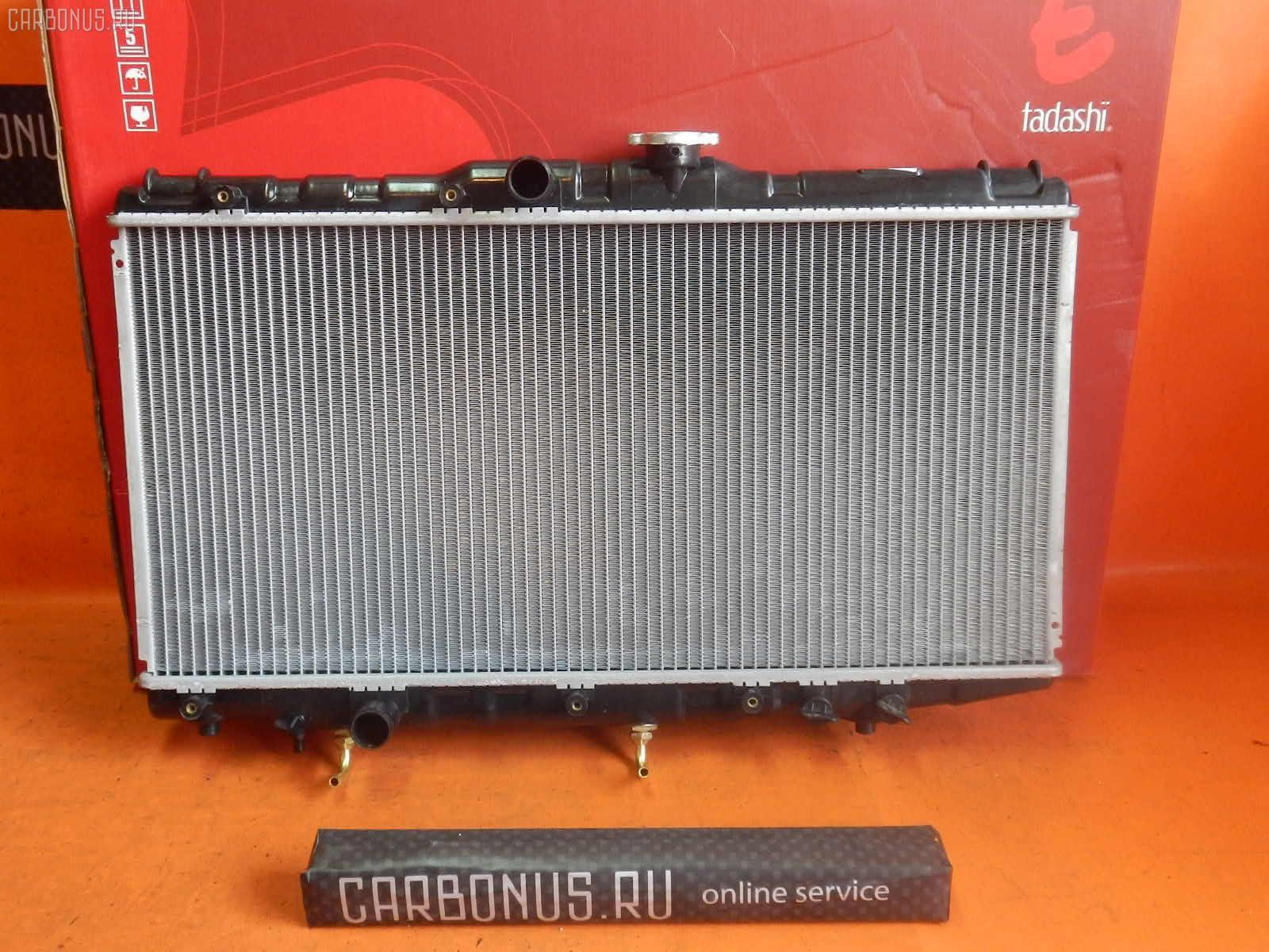 Радиатор ДВС TOYOTA CORONA AT175 4A-FE. Фото 7