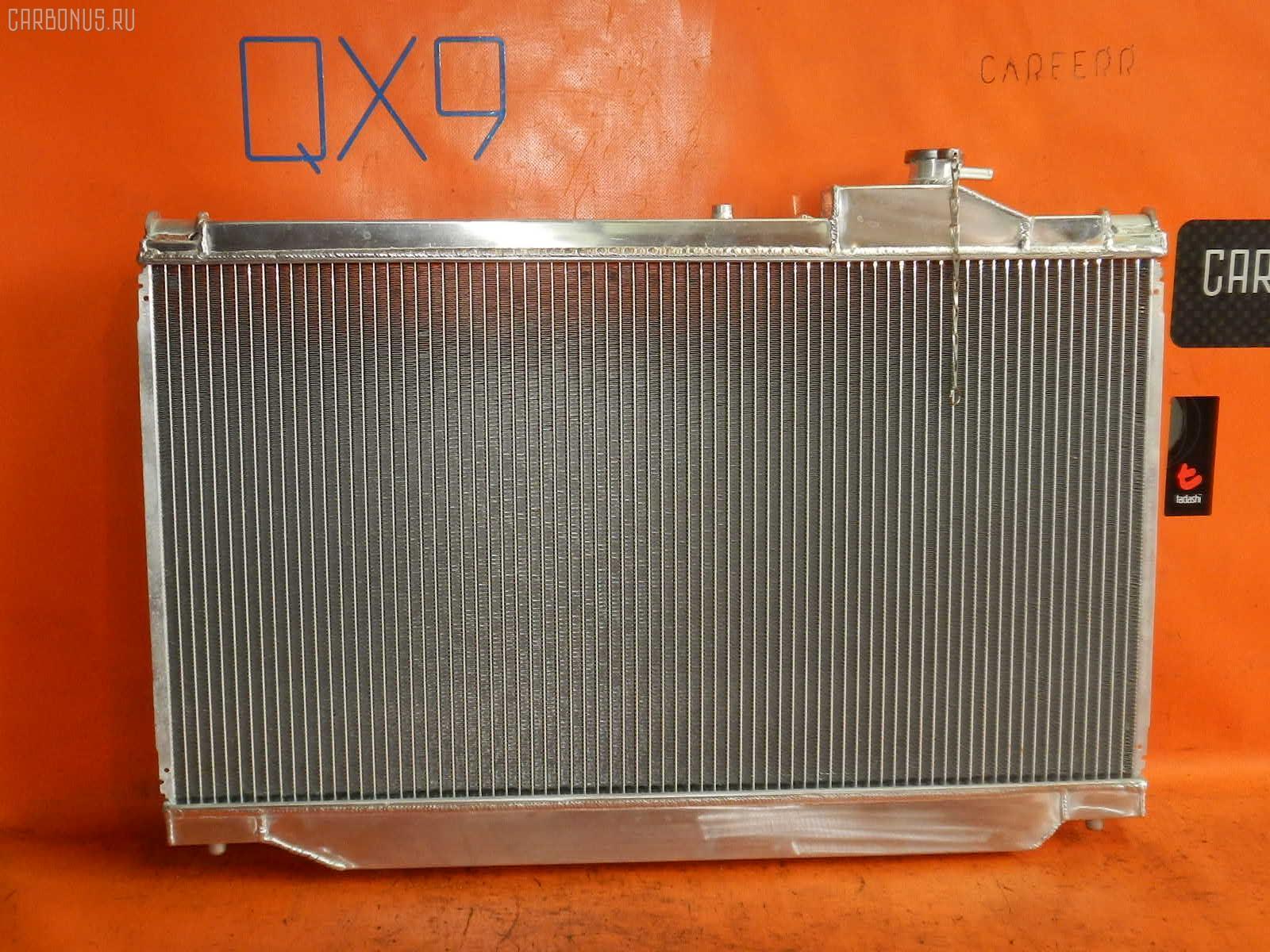 Радиатор ДВС TOYOTA SUPRA JZA80 2JZ-GTE. Фото 5