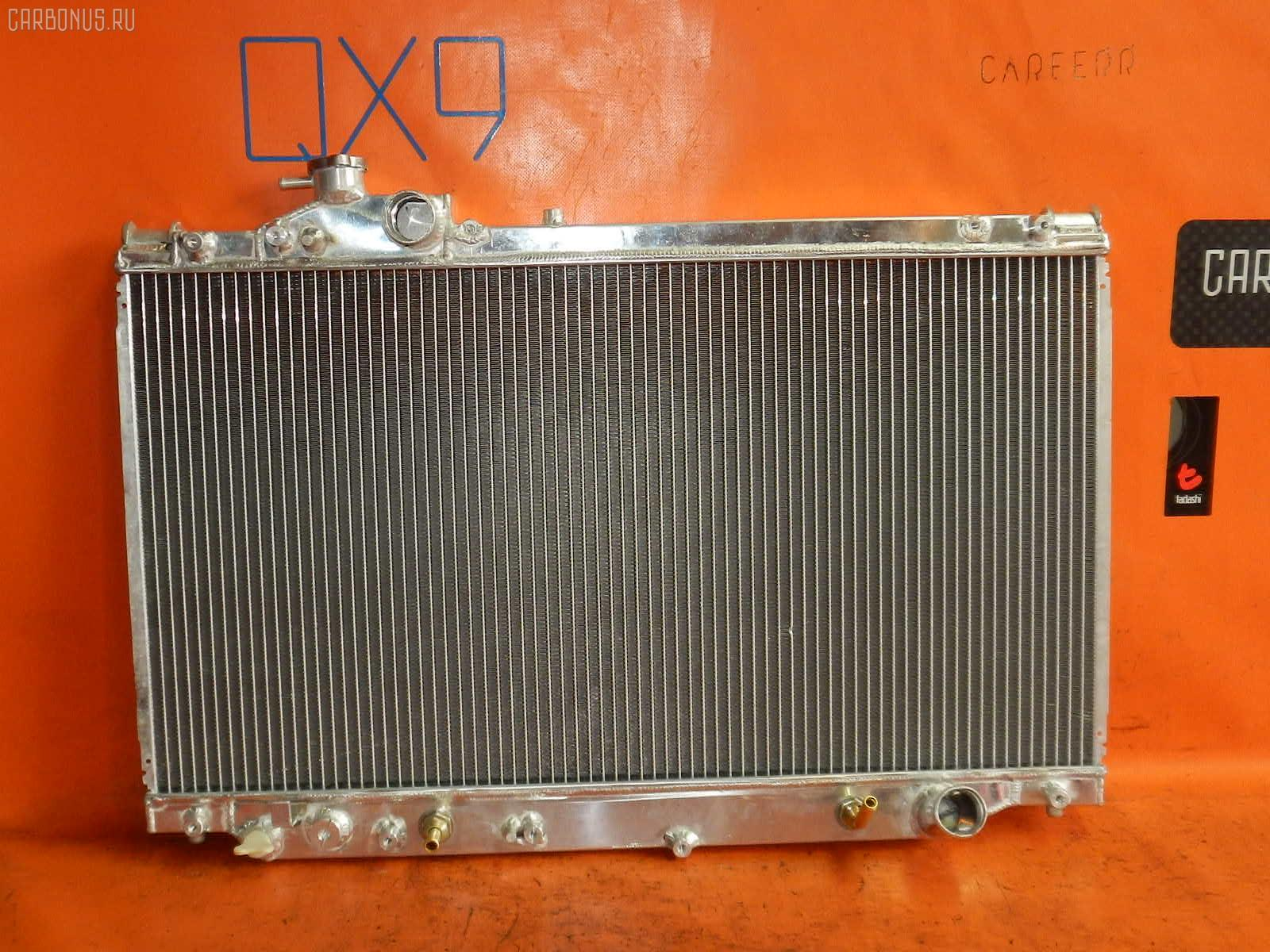 Радиатор ДВС TOYOTA SUPRA JZA80 2JZ-GTE. Фото 4
