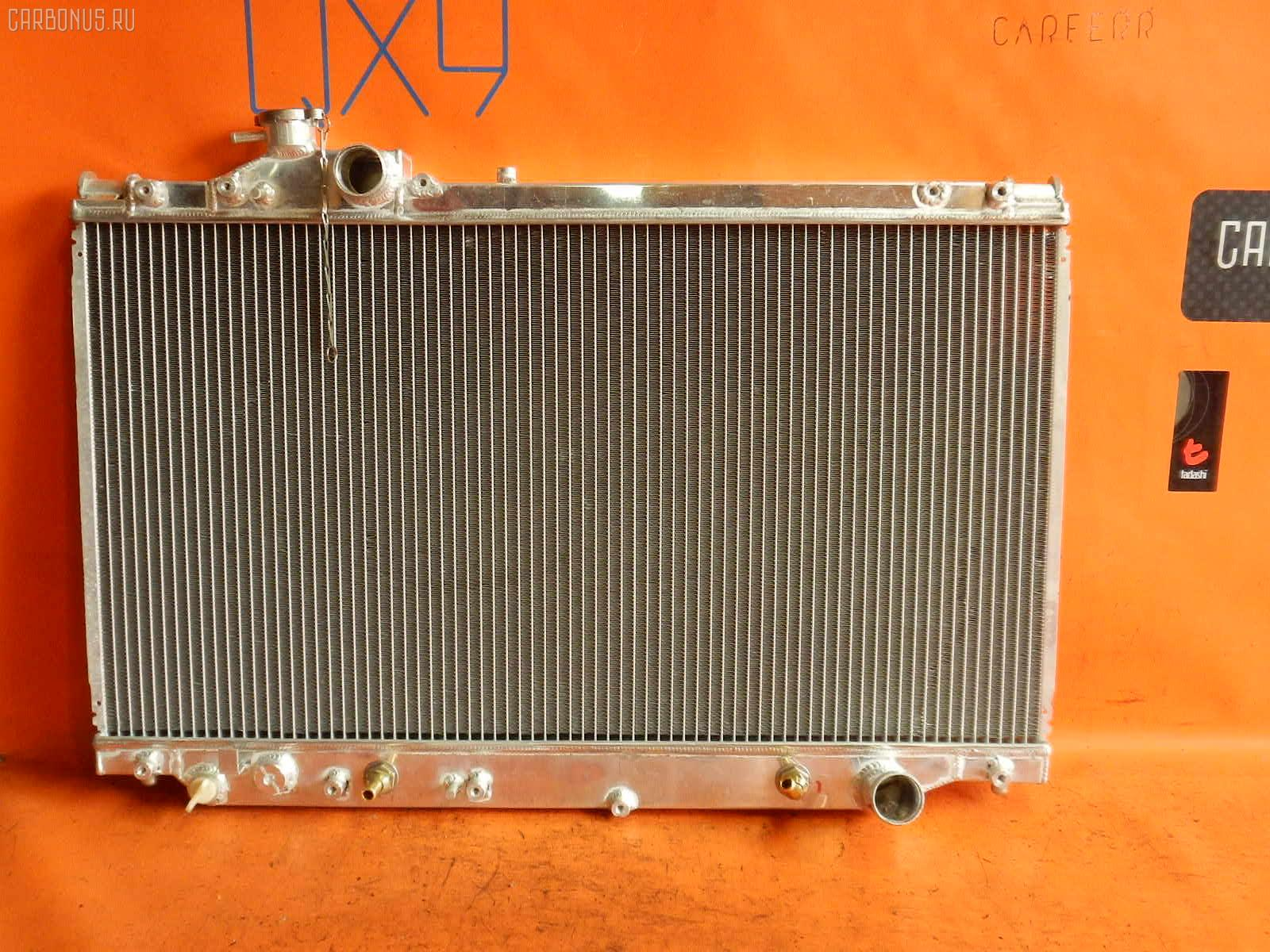 Радиатор ДВС TOYOTA SUPRA JZA80 2JZ-GTE. Фото 7