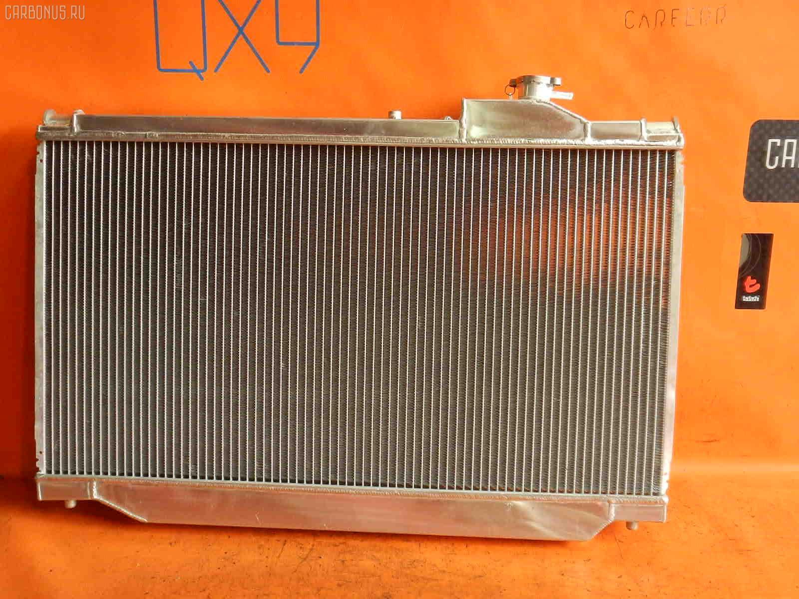 Радиатор ДВС TOYOTA SUPRA JZA80 2JZ-GTE. Фото 8