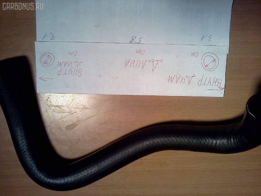 Патрубок радиатора ДВС KOMATSU PC30-7  Фото 1