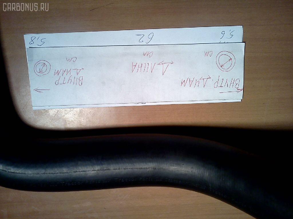 Патрубок радиатора ДВС HITACHI EX300-1 Фото 1