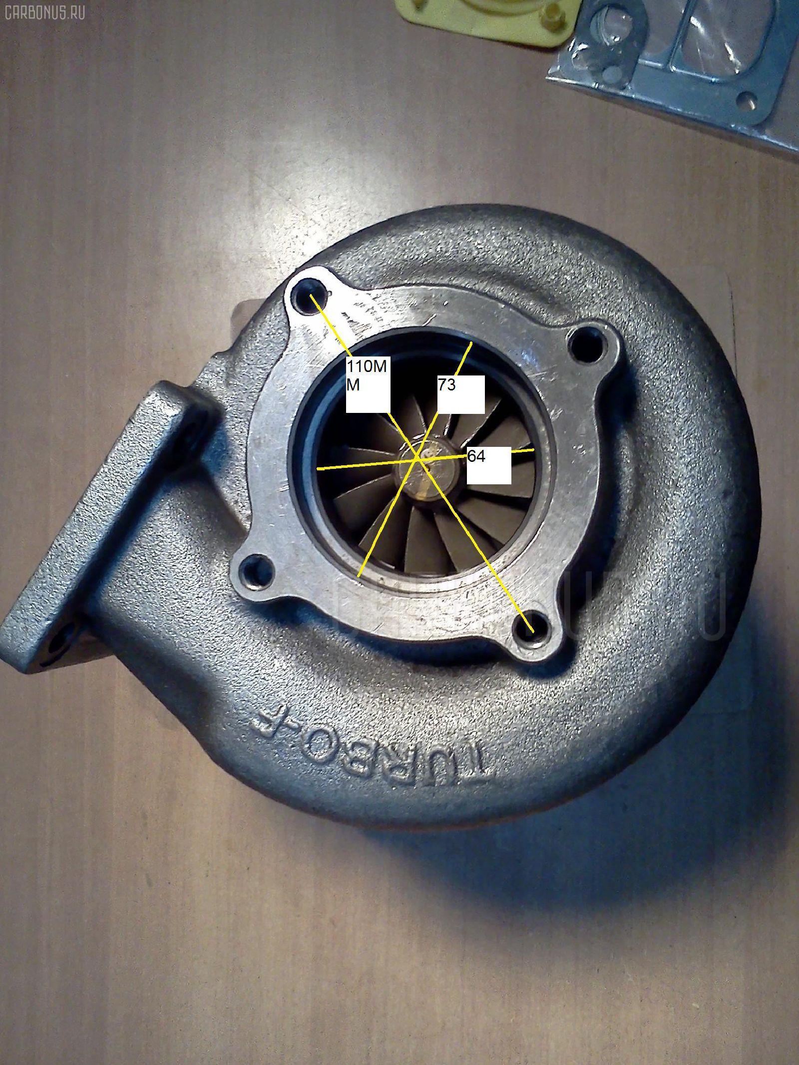 Турбина HITACHI EX300-2 6SD1 Фото 2