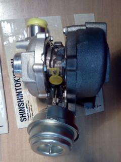 Турбина VAG SST ST-138-5997 на Audi A4 8EC BLB Фото 3