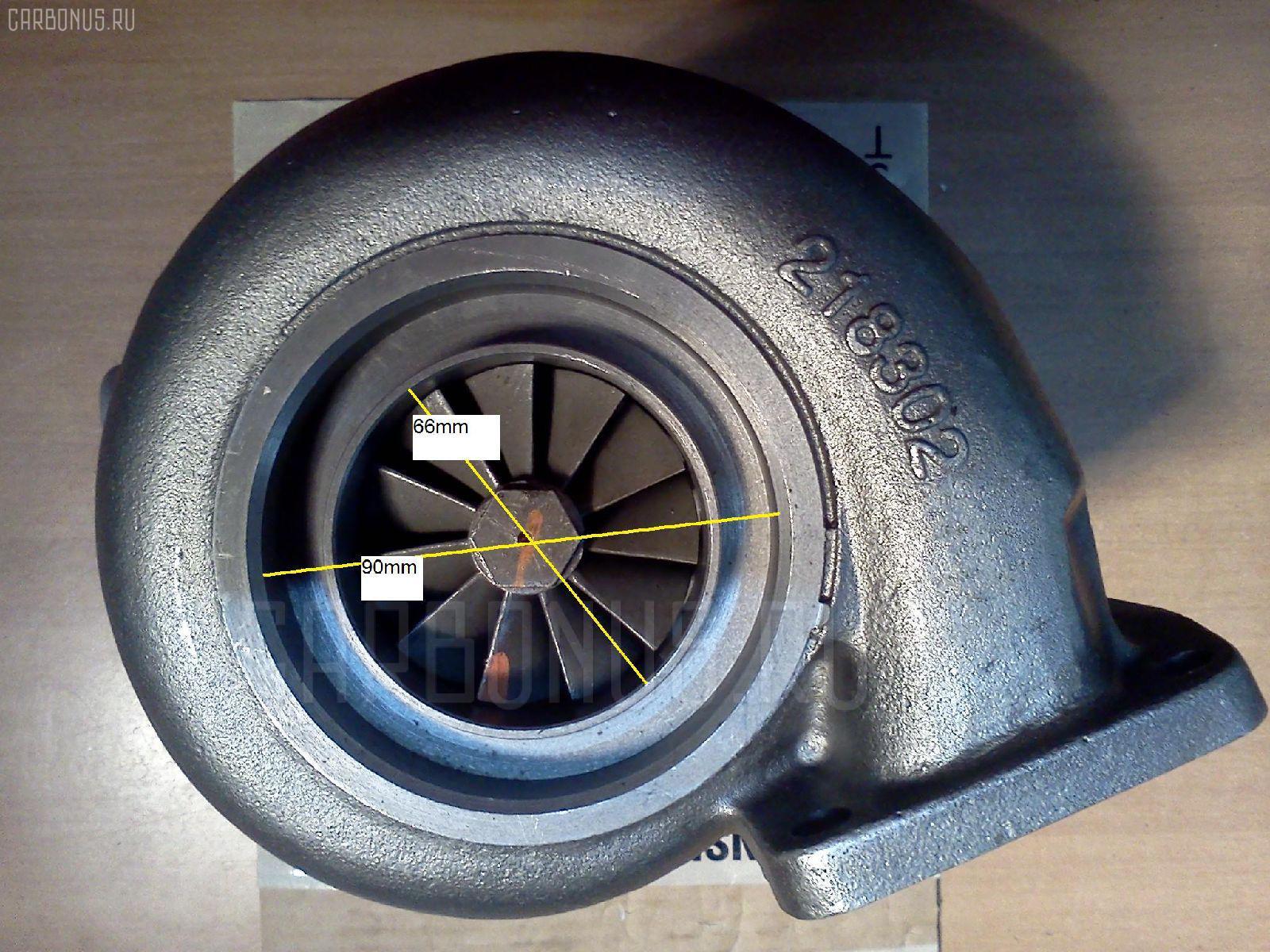 Турбина ISUZU FORWARD FRD11 6BD1T. Фото 2