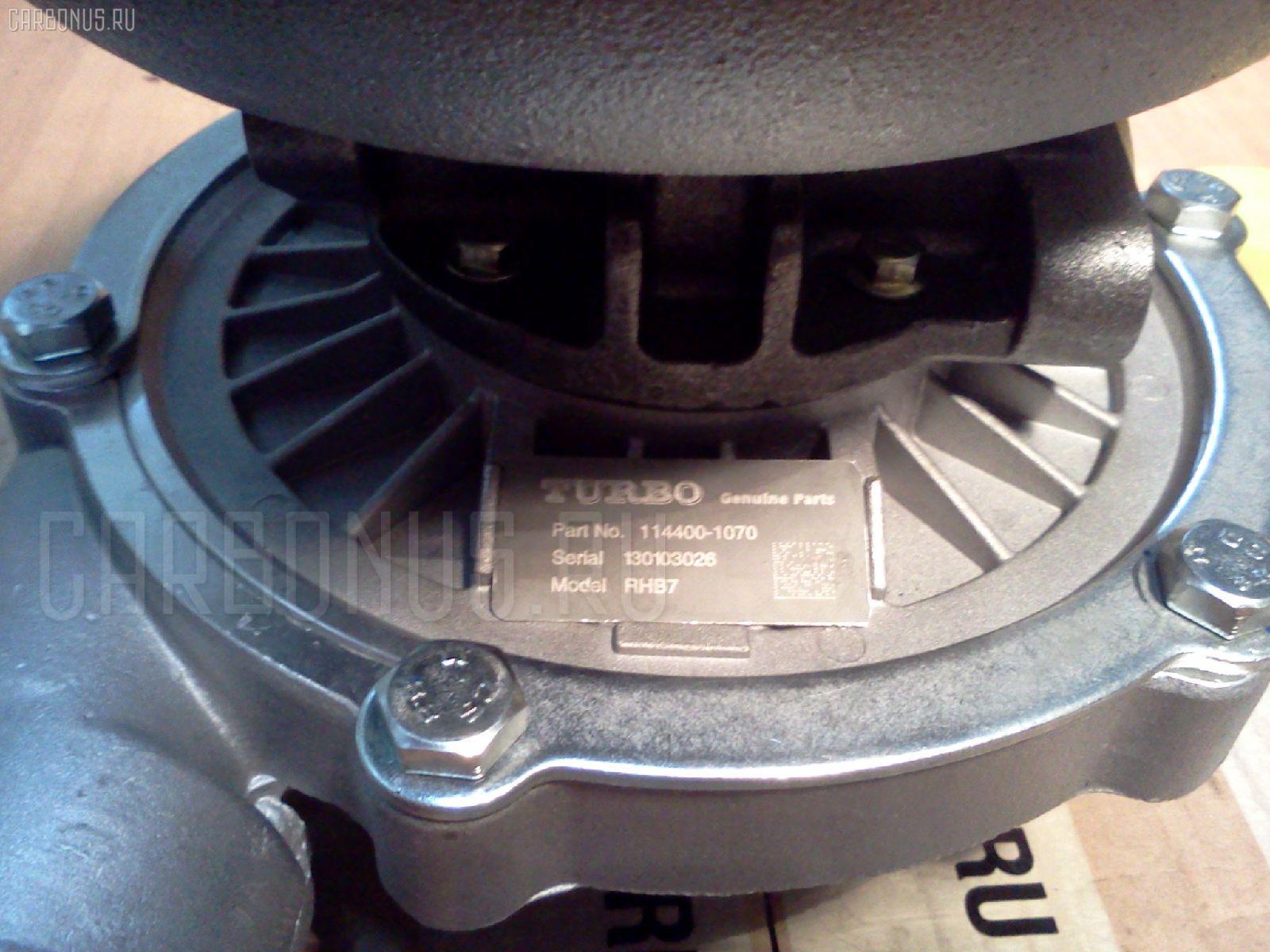 Турбина ISUZU FORWARD FRD11 6BD1T. Фото 3