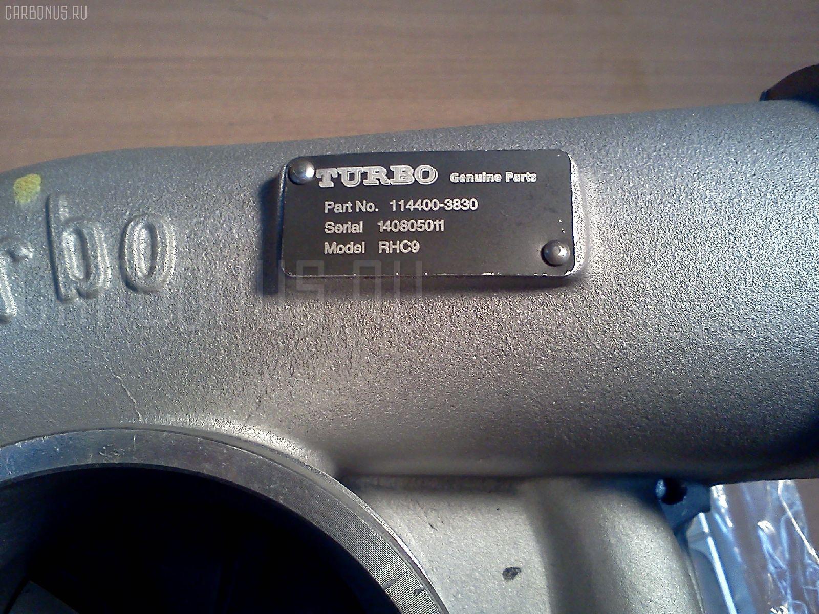 Турбина HITACHI ZX450 6WG1T Фото 3