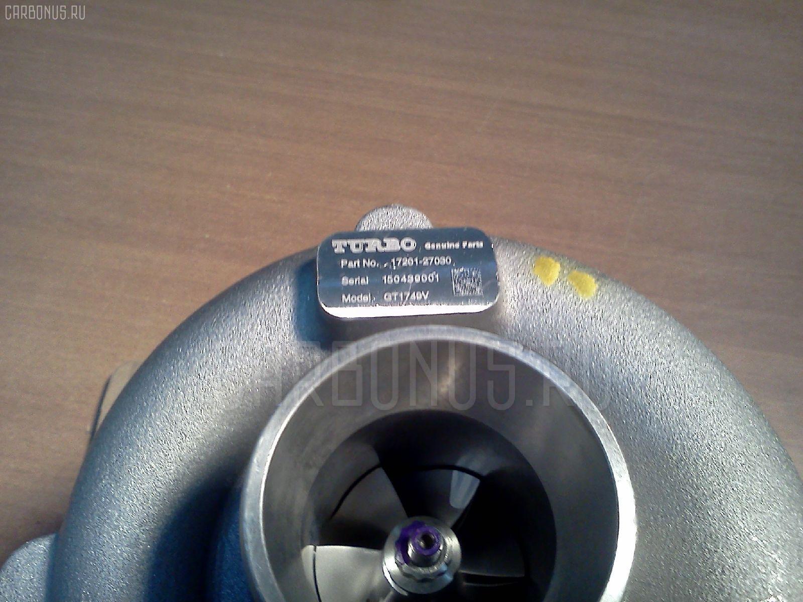 Турбина TOYOTA AVENSIS CLM20 1CDFTV Фото 2